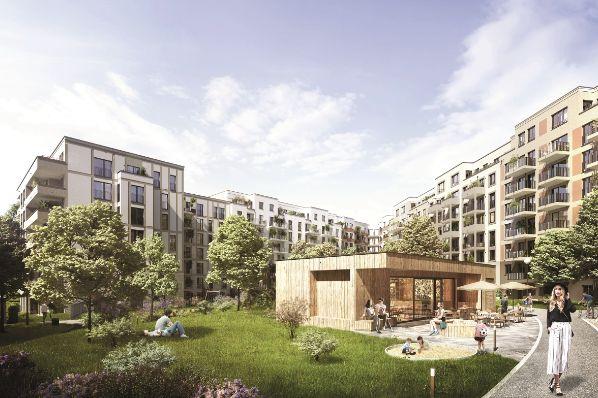 CBRE GI acquiert le Sudkreuz Quartier