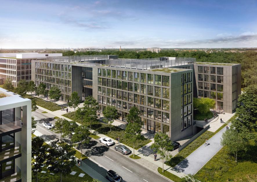 Ouverture du complexe SMART OFFICE à Düsseldorf'