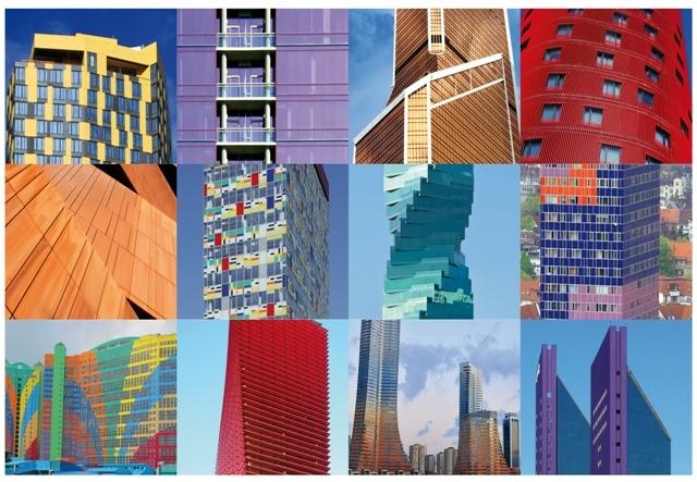Le gris, c'est fini ! – Voici les grands immeubles les plus colorés du monde