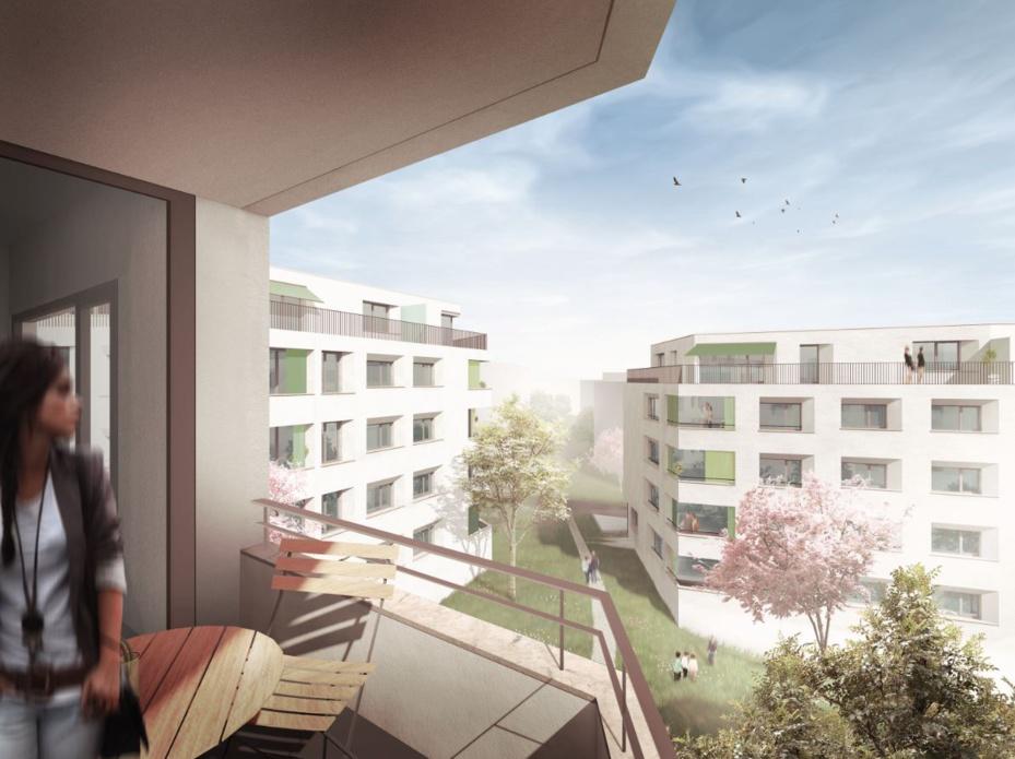 Image de synthèse © Richter Dahl Rocha & Associés architectes SA - Lausanne