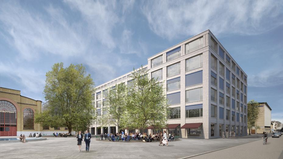 Baueingabe für Geschäftshaus am Schiffbauplatz