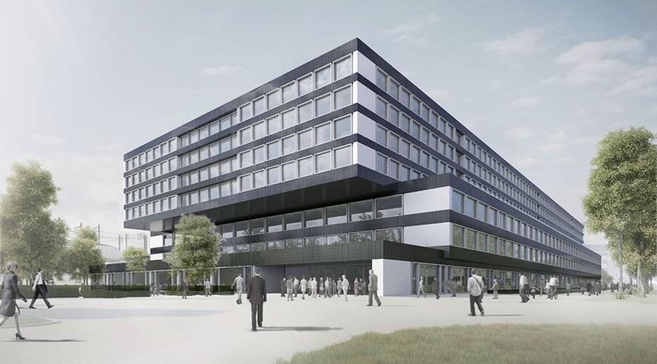 Baustart für die Gesamterneuerung Ambassador House