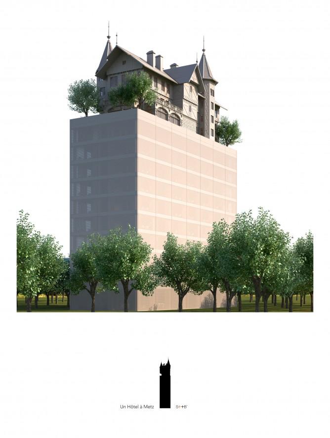 Hôtel #Starck à Metz