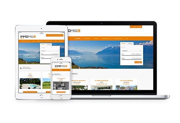 Neue Version des Portals www.immomig.com