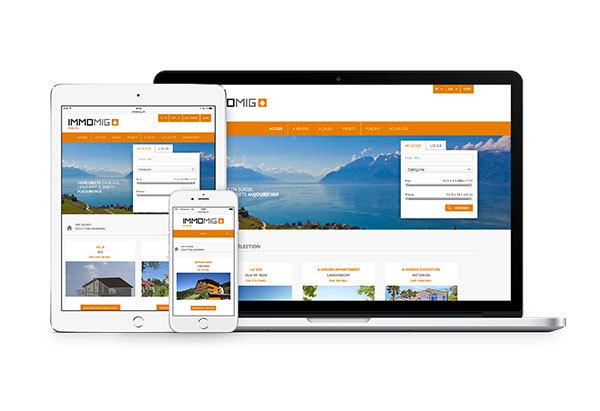 Nouvelle version du portail www.immomig.com