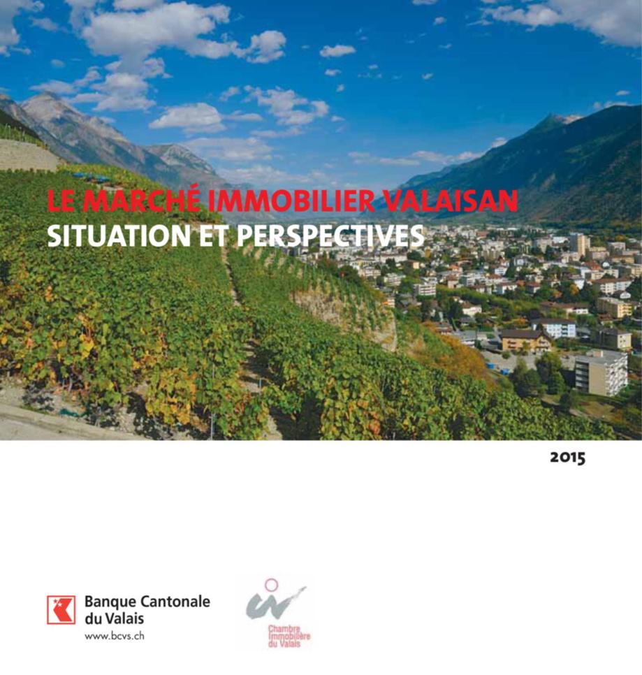 Coup de frein pour l'immobilier en Valais