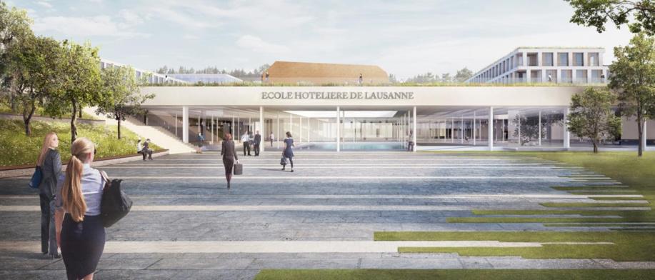 L'Ecole hôtelière dévoile son futur campus, conçu par des étudiants pour des étudiants