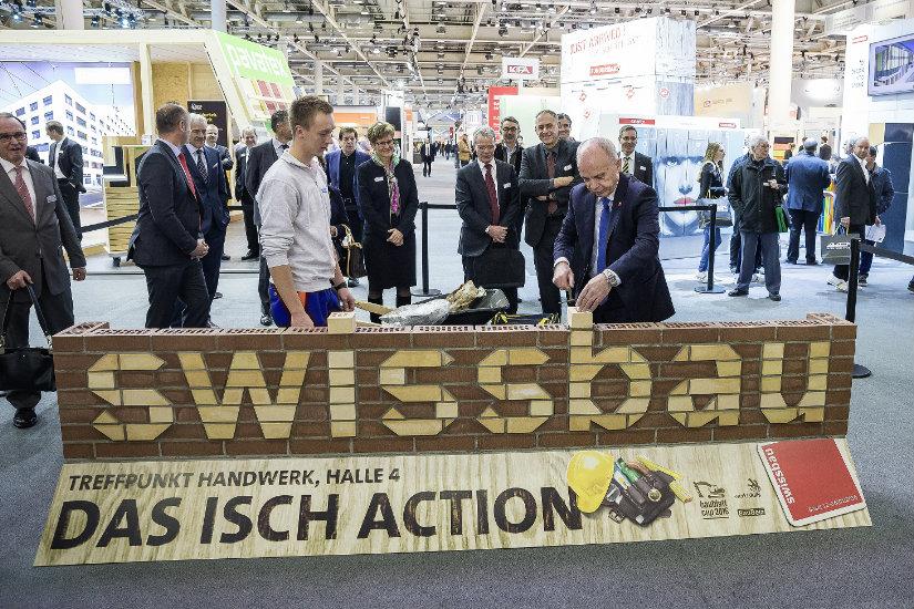 SWISSBAU 2016: LE THÈME DE LA CONSTRUCTION A ATTIRÉ LES VISITEURS