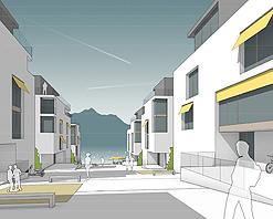 Construction de 3'000 logements durables: «1 kilomètre à pied», projet lauréat du concours d'urbanisme des Fiches-Nord