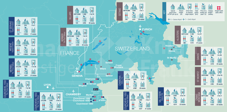 ÉTUDE SKI PROPERTY REPORT 2016  GSTAAD DOMINE LE CLASSEMENT!