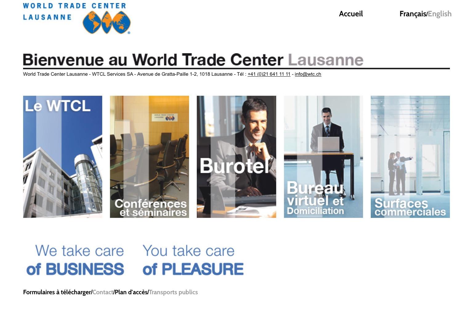 Intershop acquiert le World Trade Center à Lausanne