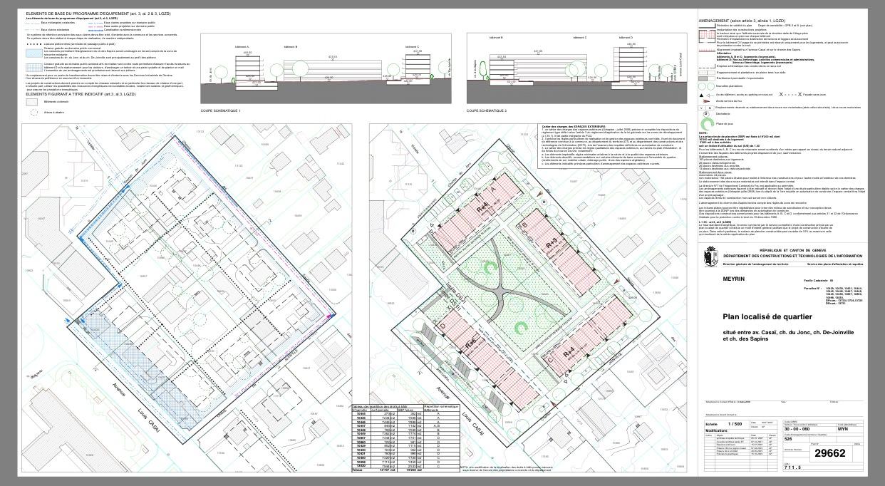 Cointrin : un potentiel de 2300 nouveaux logements et 800 nouveaux emplois à long terme