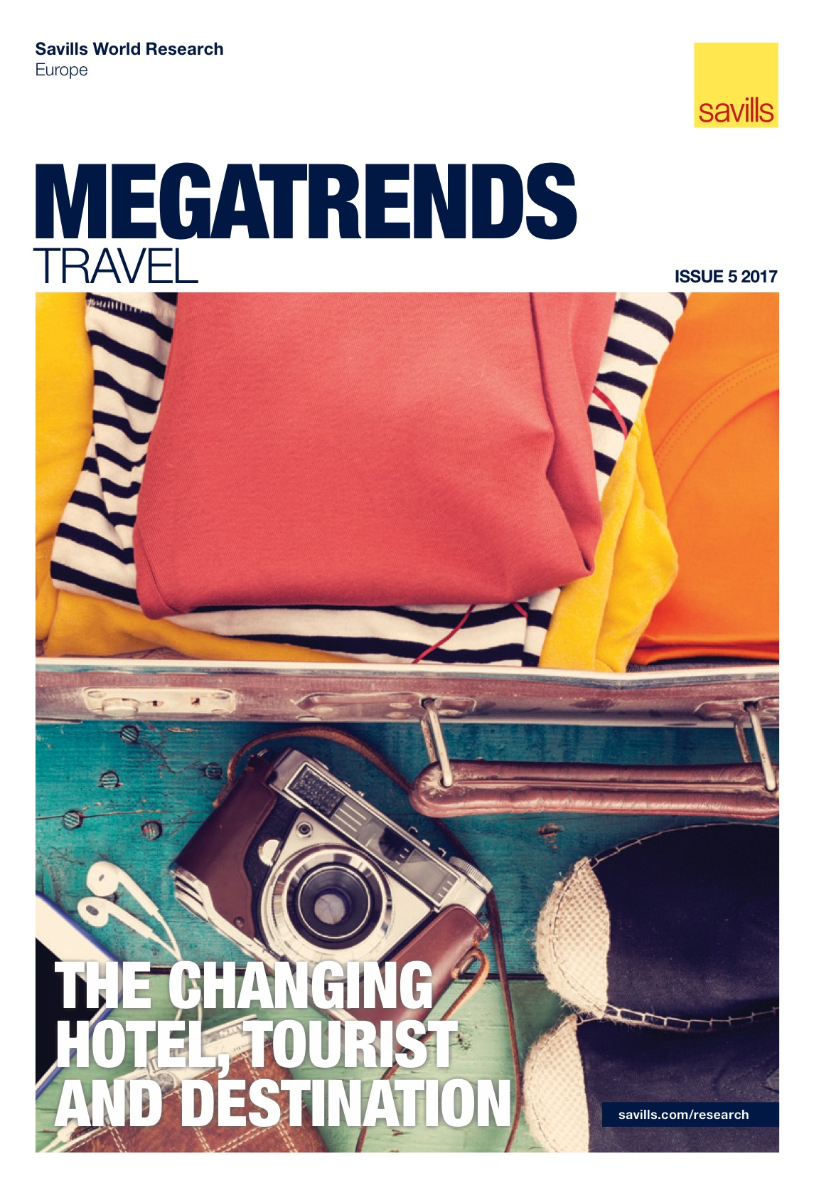 Savills - Europe Megatrends Travel – Issue 5 2017