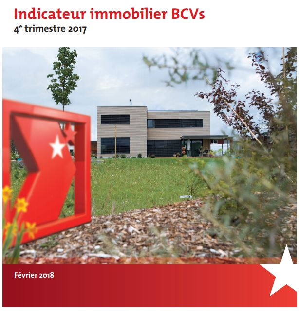 Indicateur immobilier BCVs - 4e trimestre 2017