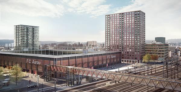 HRS va construire le nouveau stade du FC Aarau
