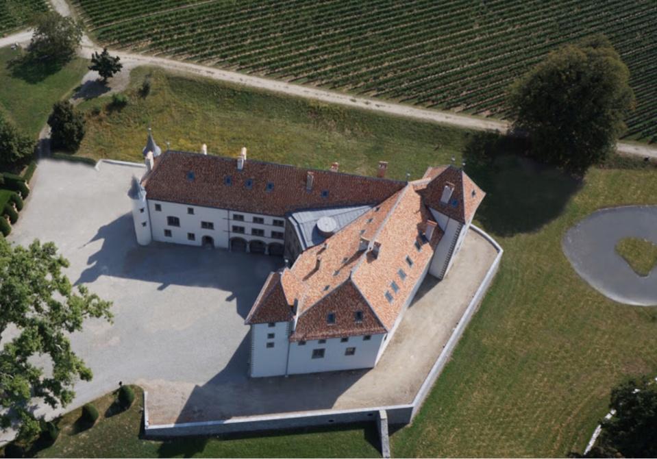 Le Château d'Allaman à vendre aux enchères