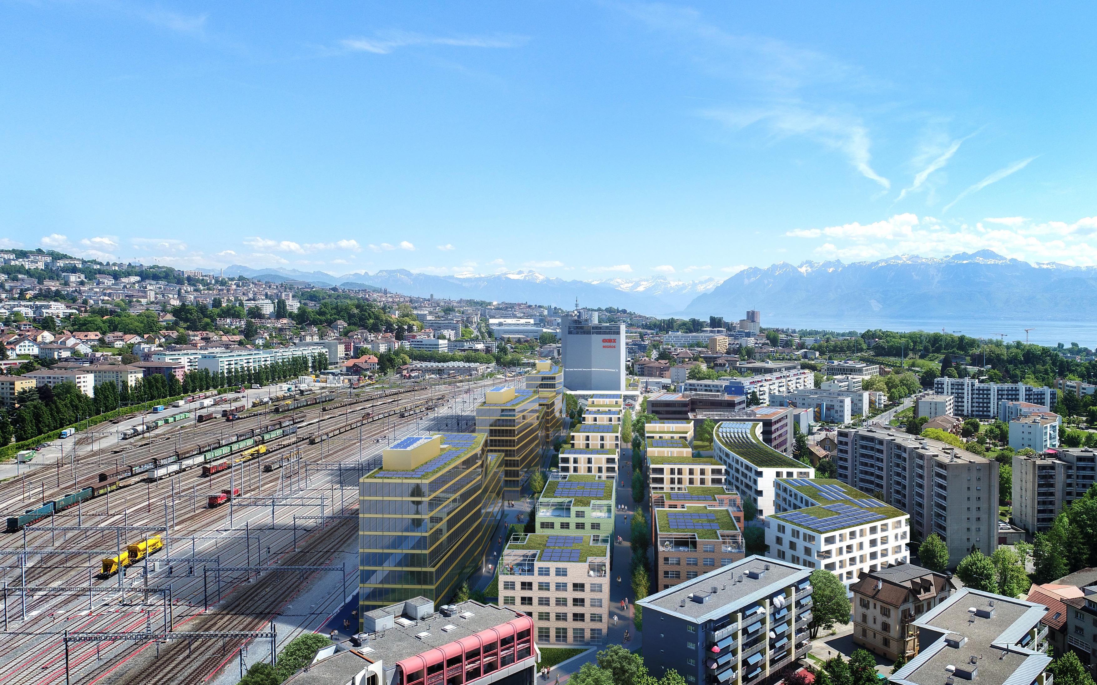 image : CFF Immobilier - Parc du Simplon