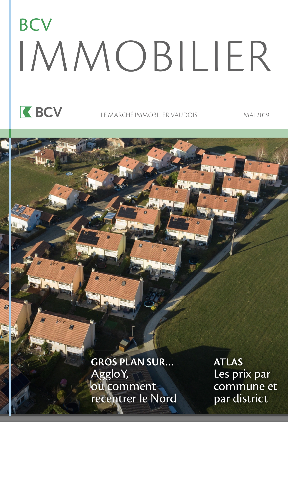 Cliquez sur l'image pour lire l'étude BCV