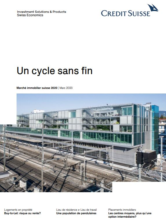 Cliquez pour lire l'étude du Crédit Suisse