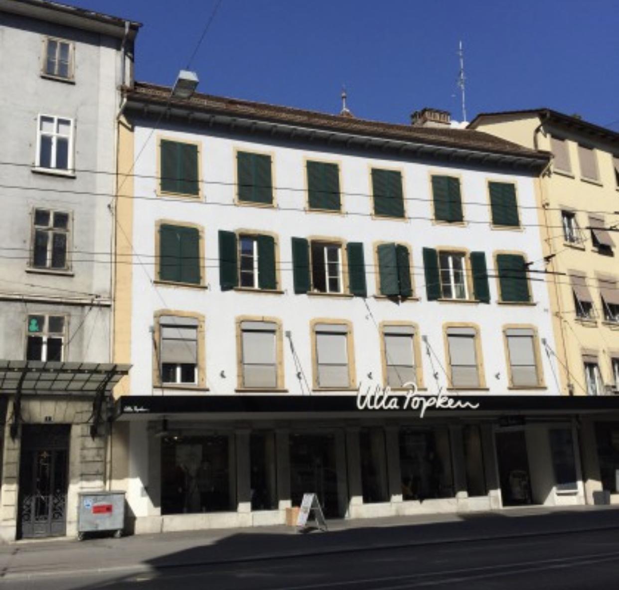 A vendre à Bienne : immeuble mixte