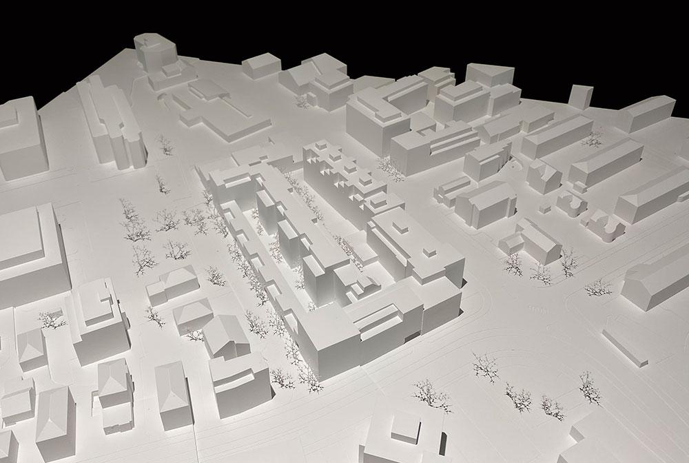 Allreal envisage un développement résidentiel avec des appartements en copropriété et des appartements locatifs sur la Spiserstrasse à Zurich Albisrieden