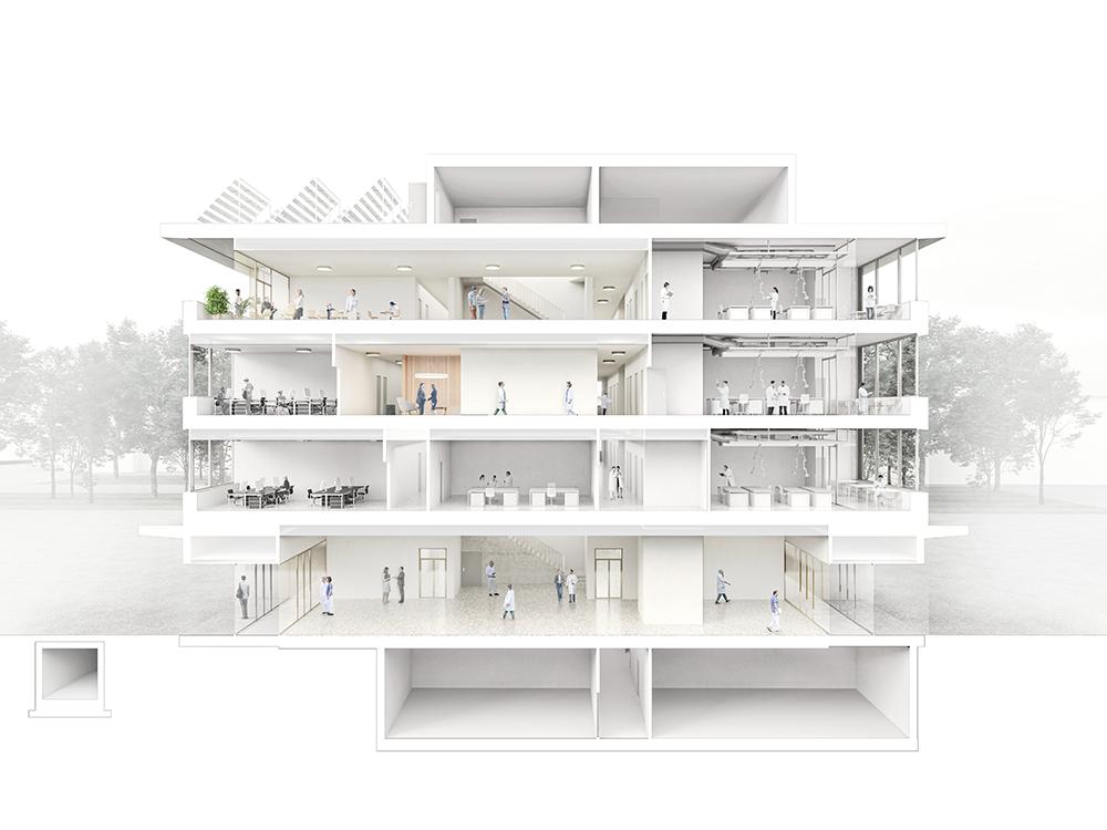 Implenia construit un campus de recherche pour l'Empa Eawag à Dübendorf