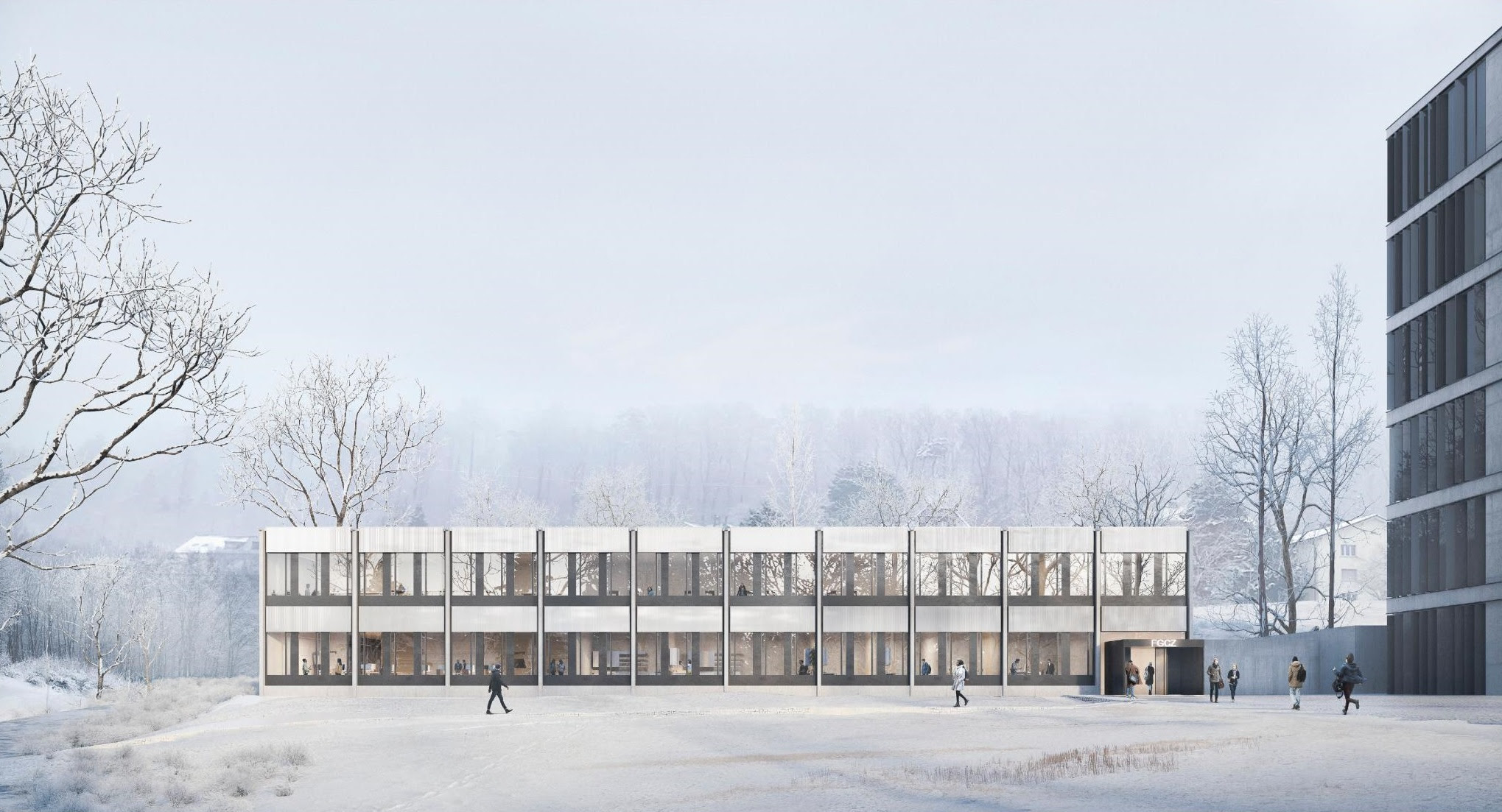 (image : Implenia avec SAM Architekten AG, Zurich).