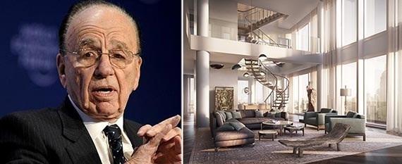 Rupert Murdoch s'offre un appartement à 57 millions de $