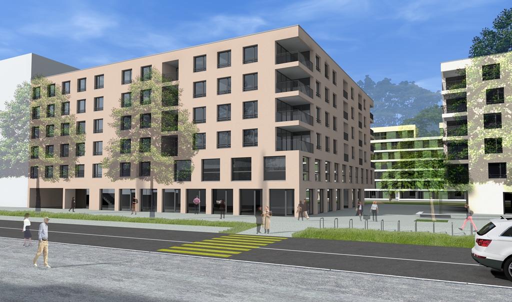 Dans le cadre de la réaffectation de la zone existante «St-Roch-Haldimand-Industrie», un nouveau quartier urbain est en train de naître dans le centre d'Yverdon, à 500 mètres seulement de la gare.