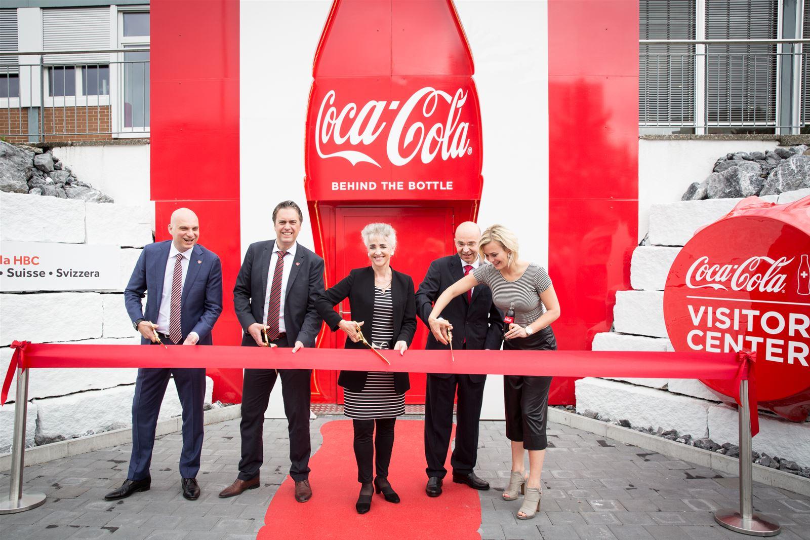 Coca-Cola ouvre un Visitor Center à Dietlikon