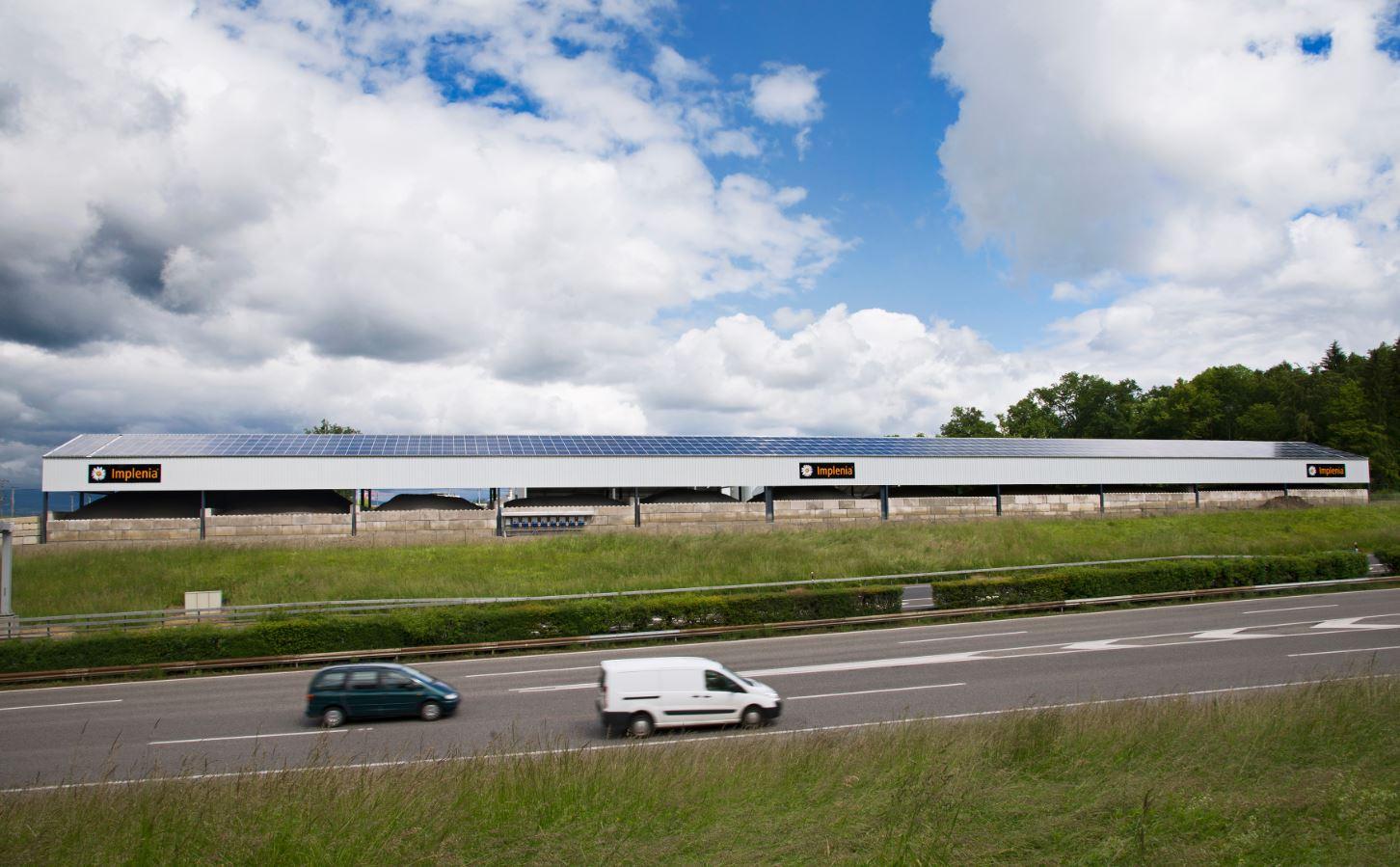 Implenia inaugure un projet phare en matière de développement durable : La centrale d'enrobés la plus durable de Suisse