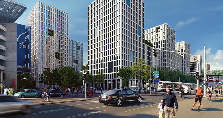 L'un des plus importants projets immobiliers de la région de Genève sortira de terre de part et d'autre de la future station Lancy – Pont-Rouge. (Source: CFF)