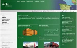 Züblin vend deux immeubles à Winterthour et à Berne