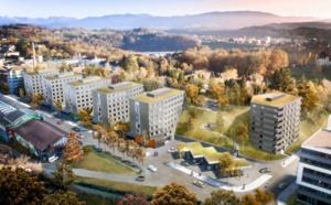 Logements pour étudiants à Fribourg: pose de la première pierre