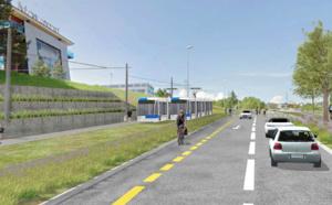 Tracé du tramway entre Renens et Villars-Sainte-Croix retenu
