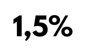 Le taux d'intérêt de référence applicable aux contrats de bail reste à 1,5 %