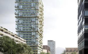 Implenia construit la plus haute tour en bois de Suisse