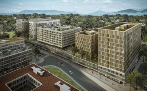 Implenia réalise cinq bâtiments dans le nouveau Quartier de l'Étang à Vernier