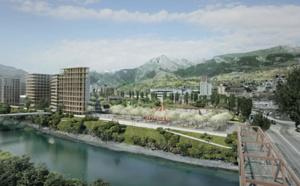 La Ville de Sion a choisi un projet fort et ambitieux pour donner une nouvelle identité au futur quartier Ronquoz 21