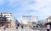 Credit Suisse: 200 mio CHF dans le projet immobilier de la gare de Sion