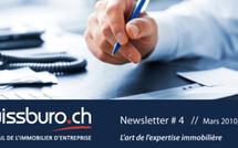 SWISSBURO.CH, le portail de l'immobilier d'entreprise - NEWSLETTER # 4