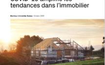 COVID-19 amplifie les tendances dans l'immobilier