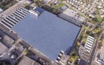 Raccordement au réseau de la plus grande installation photovoltaïque de Suisse à Zuchwil (SO)