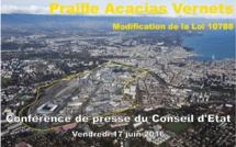 L'accord pour plus de logements et une meilleure mixité sociale dans le projet Praille Acacias Vernets est signé